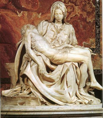 Пьета (Оплакивание Христа) - Микеланджело