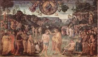 Крещение Иисуса – Перуджино
