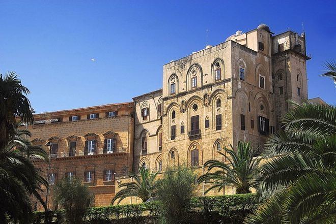 Королевский Норманнский дворец в Палермо