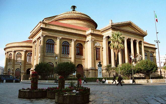 Большой оперный театр Палермо