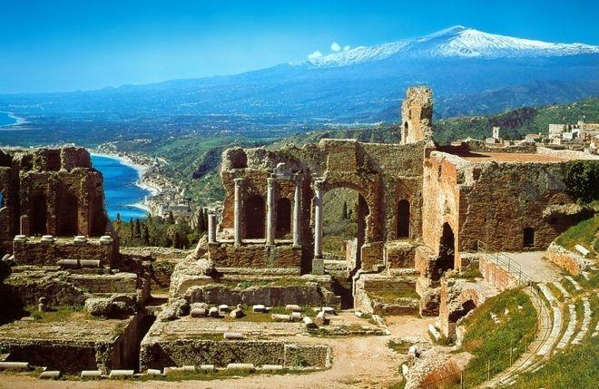 Античный театр Таормины