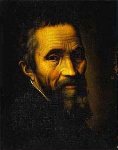 Портрет Микеланджело Буонарроти