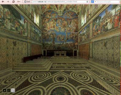 Интерактивный просмотр капеллы в 3D