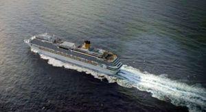 Costa Fascinosa в море