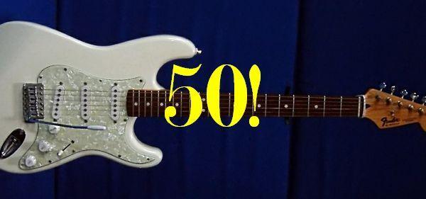 Fender - 50 лет в Италии!