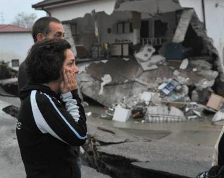 Непогода в Лигурии. Разрушены дома