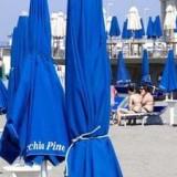 Протест представителей пляжного бизнеса