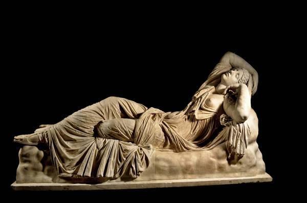 Спящая Ариадна в галерее Уффици во Флоренции