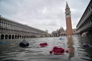 Шторм бушует на севере Италии
