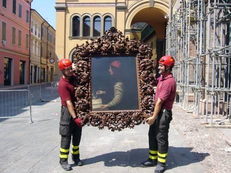 Болонья: выставка произведений, спасённых из-под завалов