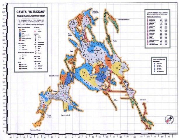 Карта грота