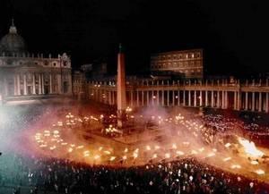 Ndocciata зажигает огни в Agnone