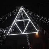 """Рождественские огни """"навеянные"""" математикой"""