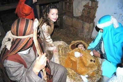 Рождество Христово в Спеккья - Живой вертеп