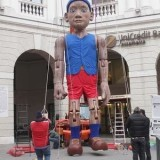Самая большая марионетка в Тревизо