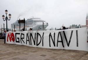 Венеция против больших кораблей