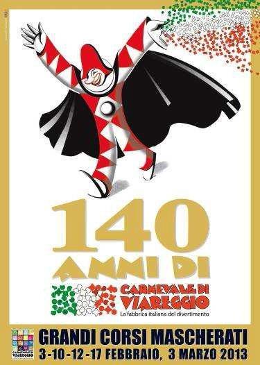 Карнавал в Виареджо 2013