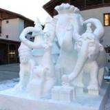 Фестиваль ледяных скульптур в Южном Тироле