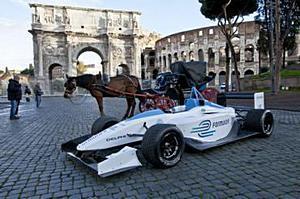 Гран-при по электрогонкам в Риме - Formula-E