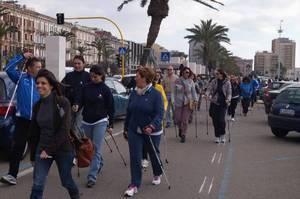 Количество любителей нордической ходьбы в Италии растёт