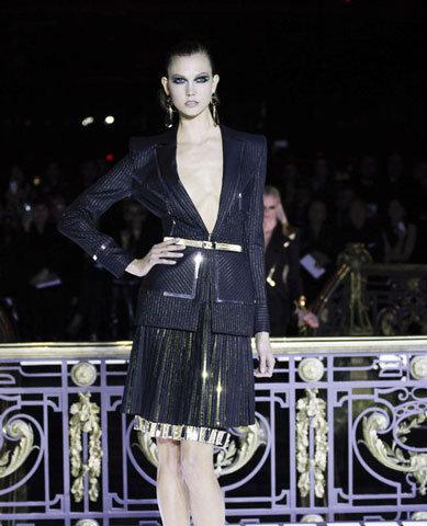 Высокая мода: коллекция Версаче в Париже