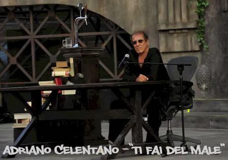 Адриано Челентано представил публике новую песню Ti fai del male
