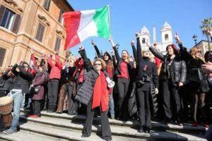Италия отмечает Международный женский день