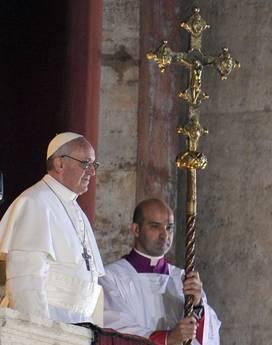 Стало известно имя нового Папы Римского - Хорхе Марио Бергоглио - Папа Франциск