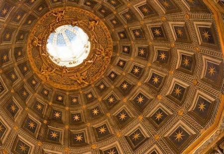 Свод кафедрального собора Сиены