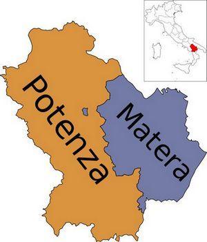 Провинции Базиликаты