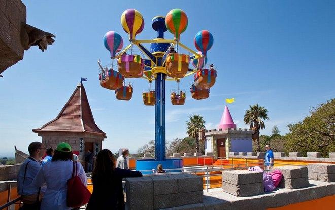 Полет на воздушном шаре (детский аттракцион)