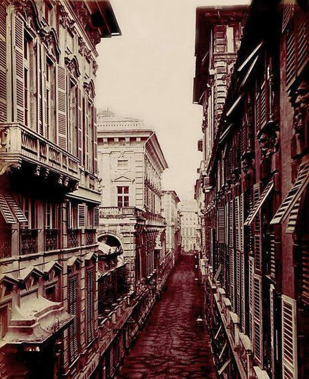 Палацци-деи-Ролли в 19 веке