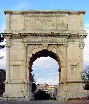 Арка Тита (Arco di Tito)