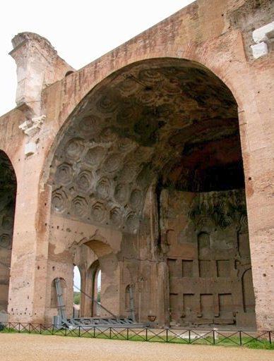 Свод базилики Максенция и Константина