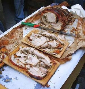 """Фестиваль свинины """"Porchettiamo"""" в Италии"""