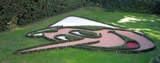 В саду парка Пиноккио