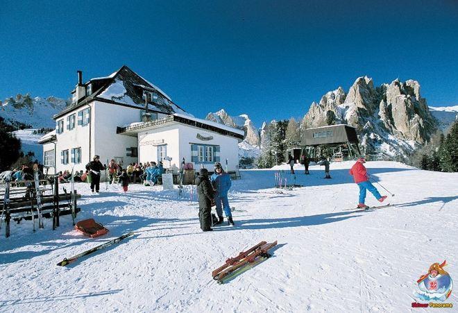 Лыжная станция в Валь-ди-Фасса