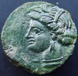 Бронзовая сицилийская монета