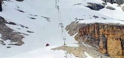 Кортина-д'Ампеццо: снежные спуски в средине лета