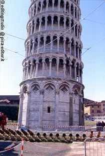 Реставрация Пизанской башни