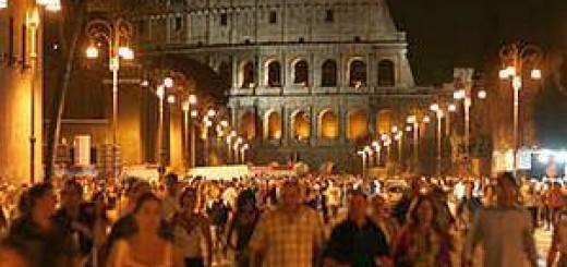 Императорский форум будет открыт для посещения ночью