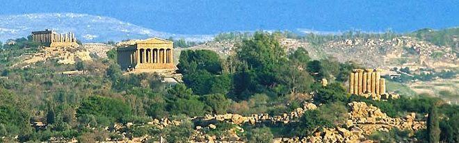 Долина храмов в Агридженто
