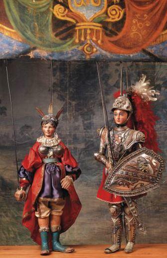 Куклы из коллекции музея
