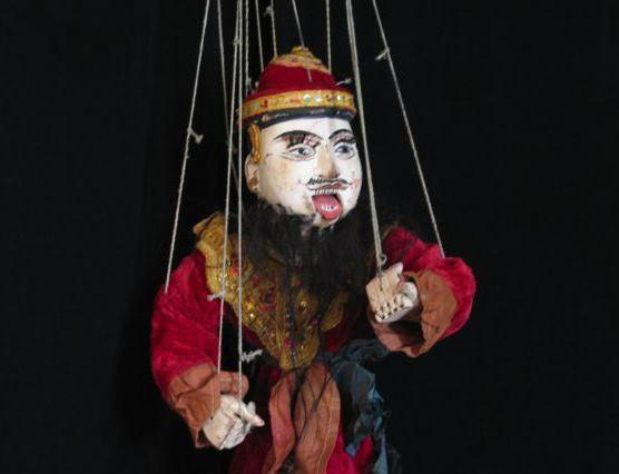 Кукла из коллекции музея