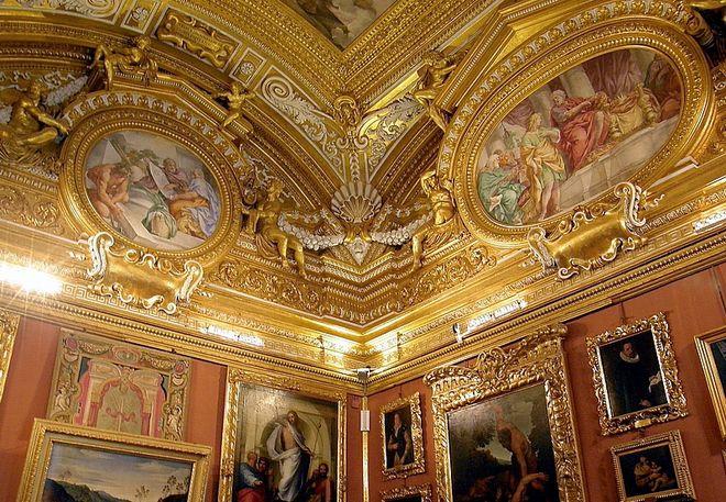 Интерьер Палаццо Питти