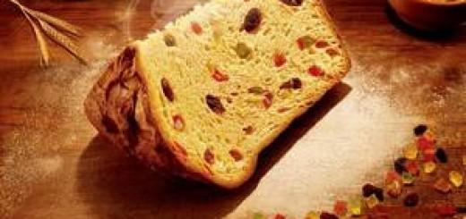 Панеттоне - самый популярный итальянский рождественский пирог
