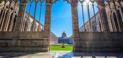Монументальное кладбище Кампо-Санто в Пизе
